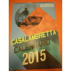 CALENDARIO CASA LAMBRETTA 2015