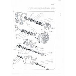 TABLA 2 DESPIECE: RODAMIENTOS CIGÜEÑAL Y EJE MOTOR