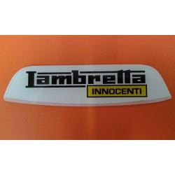 ANAGRAMA TRAS. S3 'LAMBRETTA' (AMARILLO)