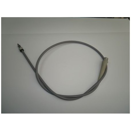 Cable y funda cuentakilometros gris.