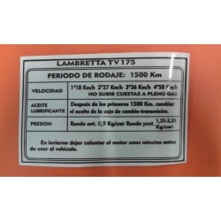 ADHESIVO DE RODAJE 'TV-175'