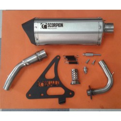 ESCAPE SCORPION INOX SCOMADI TL125