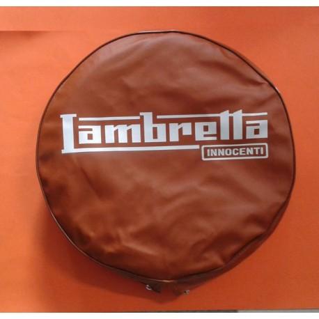 FUNDA RUEDA REPUESTO 'LAMBRETTA' CAMELL