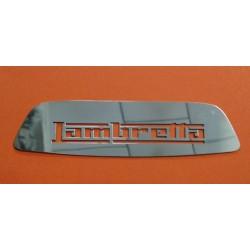 ANAGRAMA TRASERO 'LAMBRETTA' S3 INOX