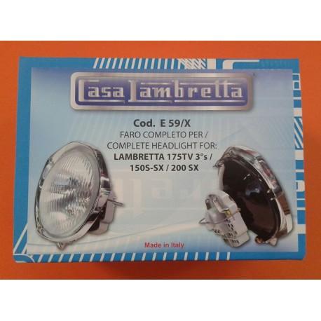 OPTICA COMPLETA S3 CASA LAMBRETTA