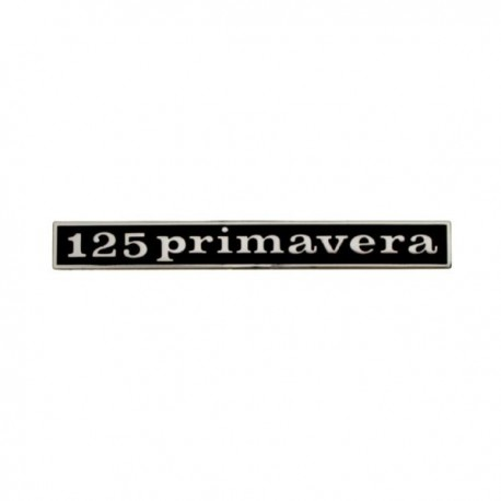 ANAGRAMA TRASERO '125Primavera'