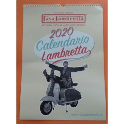 CALENDARIO 2020 CASA LAMBRETTA