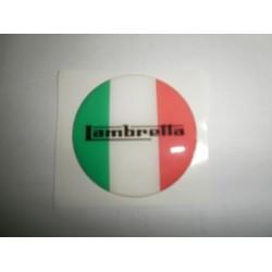 Adhesivo en resina Lambretta 'Italia'