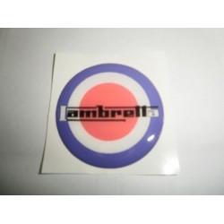 Adhesivo en resina Lambretta 'Diana mod'