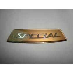 Anagrama trasero LI Golden Special italiana.